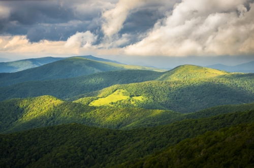 Blue Ridge Mountains of East Tennessee.